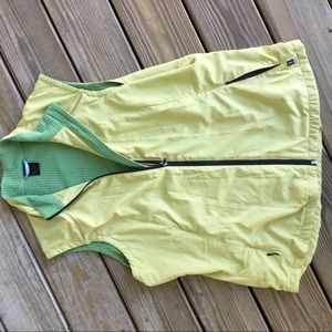 REI XL green/ yellow 100% polyester vest